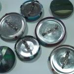 Brooch - Hydrangea - Giant Button