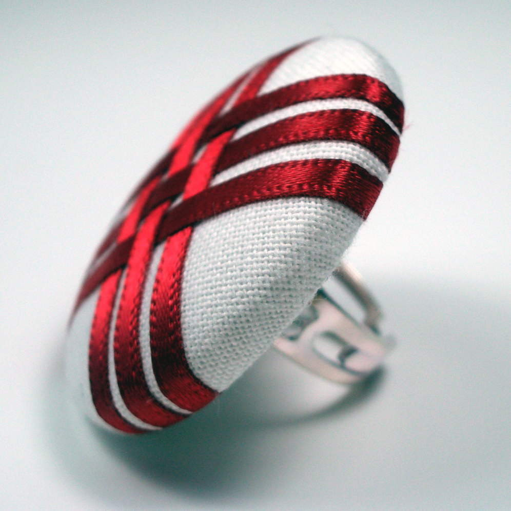 Cocktail Ring - Geisha - Large Button