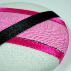 Brooch - Pink Flash - Giant Button